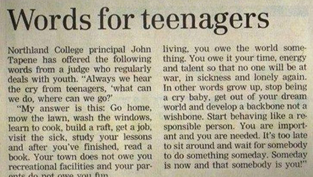 parent advice on teenage dating