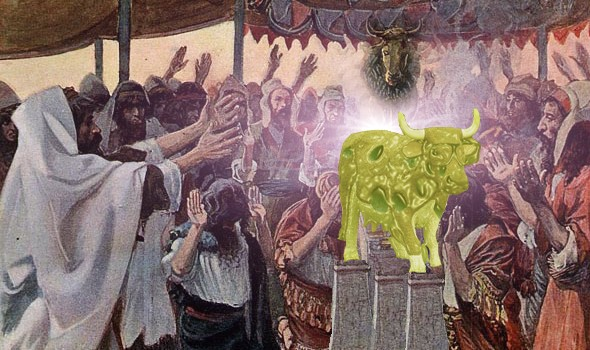 Israelites Worship the Golden Calf