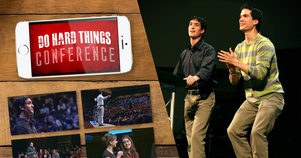 Do Hard Things Conference Videos